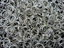 5mm Silver Plated Jewellery Split Rings Findings Craft Connector Beading ML