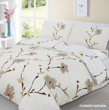 Duvet Cover With Pillow Case Quilted Cover Bedding Set Double King