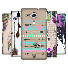 HEAD CASE DESIGNS LOVE FEATHERS CASE COVER FOR SONY XPERIA SP C5303