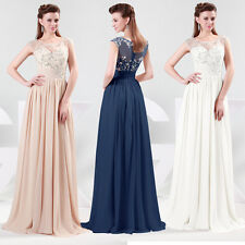 3 Colors Pretty Girls Long Birthday Evening Formal Cocktail Grace Karin JS Dress