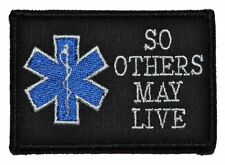 EMS So Others May Live -  3x2 Hat Patch