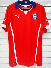 BNWT CHILE HOME FOOTBALL SOCCER JERSEY TRIKOT WORLD CUP 2014