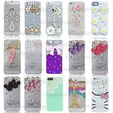 FOR iPHONE SE 5 5S LUXURY 3D CRYSTAL DIAMOND CASE BLING DIAMANTE HARD COVER