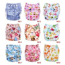 Waterproof Adjustable Bamboo Infant Baby Cloth Diaper Nappy Potty Training Pants