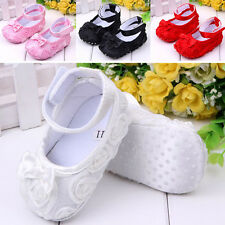 Baby Girl Crib Comfortable AntiSlip Sandal Princess Toddler 0-12 month