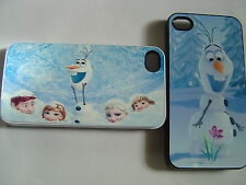 Iphone 6 5 4/4s Samsung Galaxy S3 DISNEY FROZEN Hard Case Cover Clip On - NEW