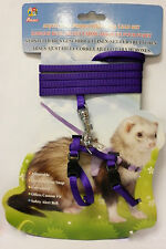 Ferret Harness Set. 5 Colours  Adjustable Suitable for Lizards Rodents Cats Pets