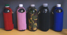 DRINKS COOLER: WATER BOTTLE HOLDER WITH LOOPS & BELT CLIP [500ML / 1 PINT]