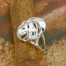 PLAIN STERLING SILVER RING SOLID.925 /NEW JEWELERY  SIZE J - U