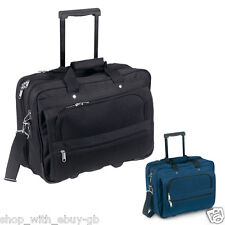 LAPTOP TROLLEY TRAVEL CASE - BUSINESS DOCUMENT CABIN FLIGHT BAG - HAND LUGGAGE
