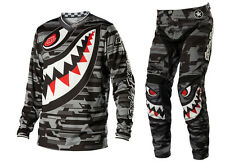 NEW 2014 TROY LEE DESIGNS TLD GP P-51 MX JERSEY PANT GEAR COMBO GRAY ALL SIZES