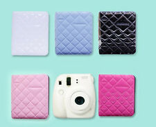 New 68 Pockets Enamel PVC Diamond Mini Polaroid Photo Album for Instax Fuji