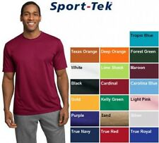 New Men's SPORT TEK Dri-Fit Workout Running T-SHIRT XS-4XL ST350