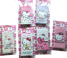 hello kitty Cartoon Leather PU Wallet Cover Case for Samsung Galaxy IV S4 I9500