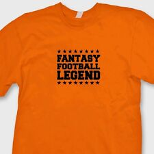 Fantasy Football Legend Funny T-shirt jersey Sports Champ Trophy Tee Shirt