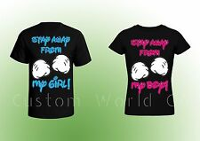 Couple T Shirt - Stay Away From My Boy and Stay Away From  My Girl -  Couple Tee