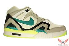 Nike Mens Air Tech Challenge II Tennis Shoes White/Turbo Green/Black All Sizes
