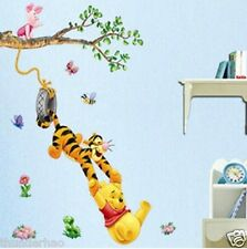 Wall Sticker Tree Disney Winnie The Pooh's partner Baby Nursery Room decor mural