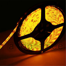 16.4ft 5m 300led DC 12v Waterproof SMD 3528 Flexible led Strip light YELLOW