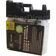 1 CiberDirect BLACK Compatible LC980 BK Ink Cartridge for Brother Printers.