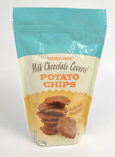 Trader Joe's Joes Milk Chocolate Covered Potato Chips 6.5 oz 184 g