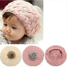 Fit Xmas Kid's Cute Baby Infant Toddler Winter Warm Knit Beanie Hat Cap 0019