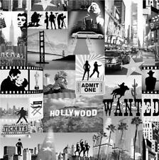 NEW LUXURY MURIVA HOLLYWOOD STARS MOVIES LANDMARKS PHOTOGRAPH WALLPAPER 102513
