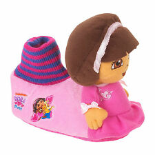 Dora Explorer Toddler Girls Socktop Slippers Various Sizes NWT
