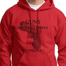GUNS Dont Kill People I Kill People Tshirt Funny Happy Gilmore Hoodie Sweatshirt