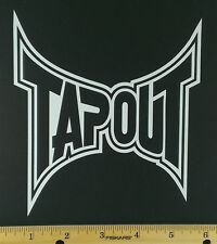 TapOut MMA Vinyl Decal/Sticker - 12 Colors to choose. UFC.