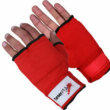 TurnerMAX Cotton Muay Thai  Inner Gloves Boxing Training Gym Exercise MMA Fight