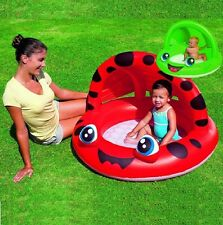 BESTWAY INFLATABLE BABY SWIMMING PADDLING SPLASH POOL PLAY SHADE SUN SHELTER TOY