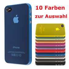 Apple iPhone 4 4S 5 5S case schutz hülle handy tasche cover ultra thin dünn