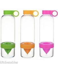 ZingAnything Citrus Zinger Lemon/LimeOrange Press Juicer Water Infuser SEE VIDEO