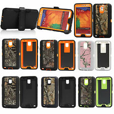 Shockproof Tree Straw Camo Defender Case Cover for Samsung Galaxy Note 3