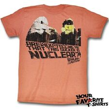Back To The Future This Sucker Is Nuclear Officially Licensed Adult Shirt S-2Xl