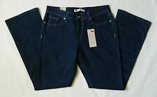 NEW 515 Levi's Bootcut Mid Rise Womens Blue Denim Jeans Short Length Many Sizes