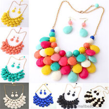 Hot Selling New Fashion Bib Statement Mixed Style Chunky Collar Necklace Chain