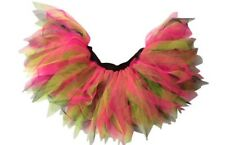 Neon Pink Tutu 6 Layer Skirt 80s Fancy Dress Party Fun Run Hen Night ALLSORTS