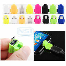 Micro USB To USB 2.0 Host OTG Adapter Converter For Samsung Galaxy S5 Android