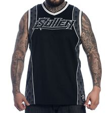 SUMMER '14 SULLEN CLOTHING GRIT JERSEY PUNK TATTOO INK TANK TOP BLK/TL S-3XL