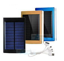 50000mAh USB Solar Power Bank External Battery Charger for iPhone Samsung iPad