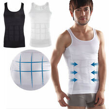 New Men Slim Body Shaper Belly Fatty Underwear Vest Shirt Corset Compression HOT