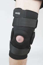 Adjustable Black Neoprene Hinged Open Knee Patella Brace Support special design