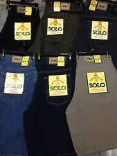 Solo Authentic Denim Short 100% Cotton All Sizes All Color baggy & Loose