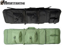 2CR 100CM Military Tactical Dual AEG Rifle Carrying Case Bag Backpack Olive Drab