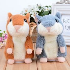 Cute Pet Talking Record Speak Hamster Plush Toy for Kids Amazing Gift EP98