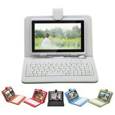 """iRulu A8 7"""" Capacitive Tablet PC Android 4.0 8GB Dual Cameras 1.2GHz w/ Keyboard"""