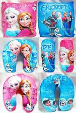 Frozen Complete Throw Pillow Cushion Disney Princess Soft Kid Room Bed Car Sofa