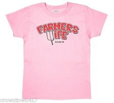 Farmers Wife Case IH Women's Pink T-Shirt - Size: S, M or L